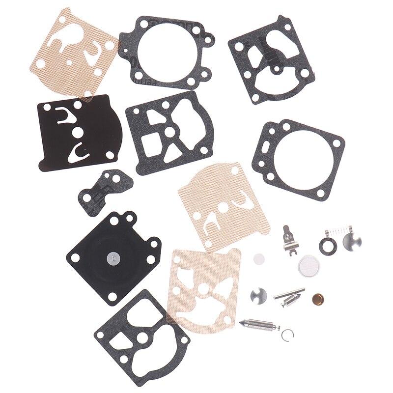 New 1Set Carb Carburetor Diaphragm Gasket Needle Repair Kit For Walbro Series K20-WAT Echo Chainsaw