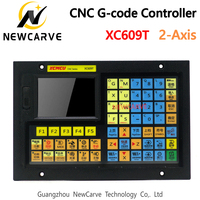 XC609T 2 Axis USB CNC Control System G code Support Outer Circle, End Face, Slot,Taper, Arc, Thread, Deep Hole Drilling NEWCARVE