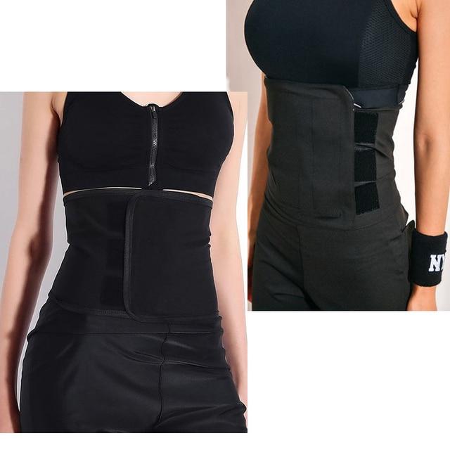 Waist Shaper Corsets Waist Trainer Cincher Control Slimming Under bust Corset Shapewear Body Tummy Corset Wrap Sport Sweat Belt 1