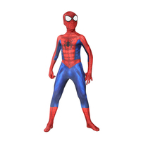 Superhero spider boy Carnival Kids Ultimate Marvel Comics Halloween Cosplay Party Costume For Child Deluxe Theme Birthday Party