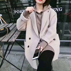 Wool Coat Women Autu...