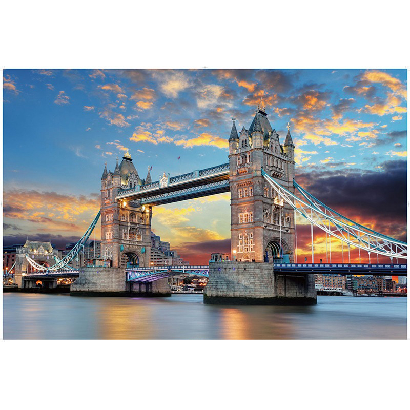 22 Styles New Jigsaw Puzzle 1000 Pieces For Adults Educational Game Toys Paper Adult Puzzles 3