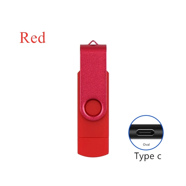 2 in 1 typec usb flash 4GB 16GB 32GB 64GB 128gb  Usb Flash Drive memory stick Pendrive usb flash drive for  type c charge phone 4