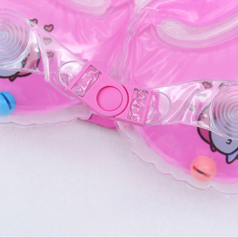 Swimming Baby Accessories Neck Ring Tube Safety Infant Float Circle for Bathing Inflatable Flamingo Inflatable Water 5