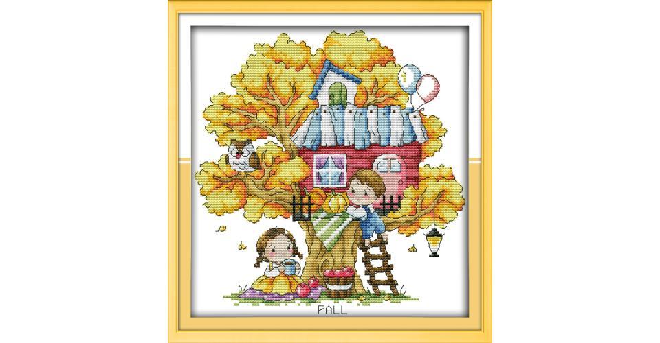 Tsukineko Stempelkissen-Set Tree House Brilliance 4 St/ück