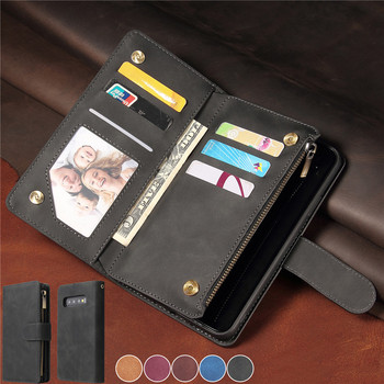 Flip Leather Case For Samsung Galaxy S20 Ultra S10 S9 Plus Note 20 10 Wallet Cover for Samsung A21S A51 A71 A40 A50 A70 S Coque