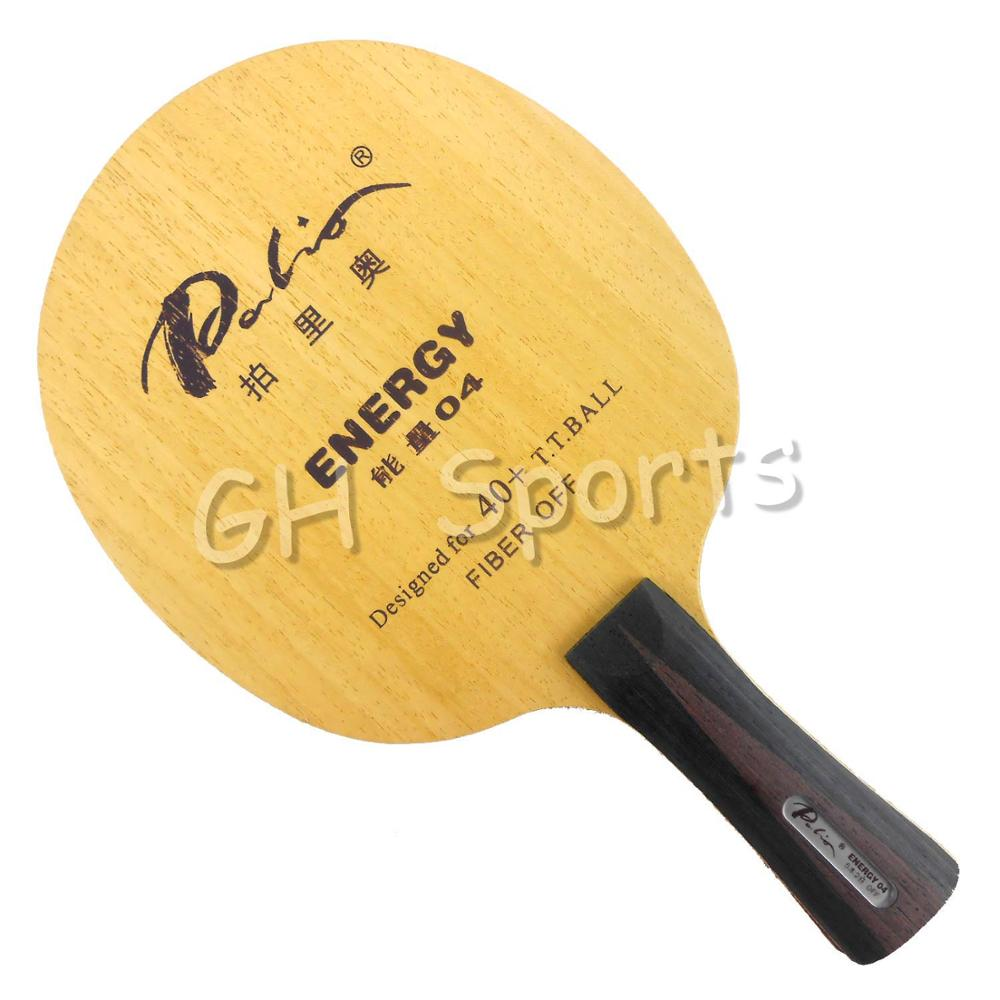 Palio ENERGY04 ENERGY 04 ENERGY-04 5Wood+2Fiber Table Tennis Blade For PingPong Racket