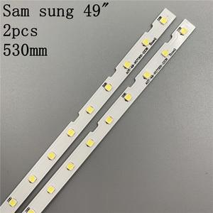 """Image 5 - LED Backlight strip 38LED for Samsung 49""""TV UE49NU7140U UE49NU7100U AOT_49_NU7300_NU7100_2X38_6V"""