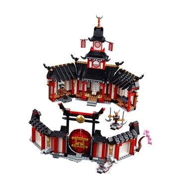 New Ninjaing Series Toys Monastery of Spinjitzu Compatible lepinngly Ninjaing 70670 Building Blocks Toys for kids Birthday Gift
