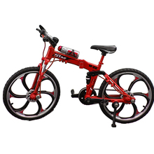 Bicycle Model Decor Simulation Ornament Rotatable Gift Alloy Foldable Kids Classic Home Mountain Bike Cool Toys Mini