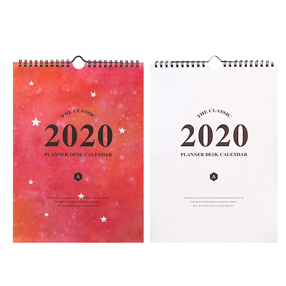 2020 Wall Calendar Monthly Large Wall Calendar Perfect Daily Planner Notes For Planning Organizing Office School Home Planner