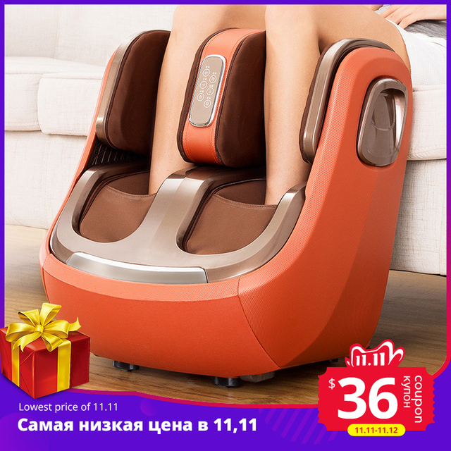 Electric Leg And Foot And knee Massager Infrared Heating Legs Calf Massage Machine Air Pressure Air Compression Massagem