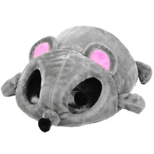 Hoopet Soft Material Cat Nest Bed Pet Bed Warming Grey Mouse Shape Cat House Dog Baskets Kennel For Cat Puppy Waterproof Bottom платье grey cat grey cat mp002xw025uo