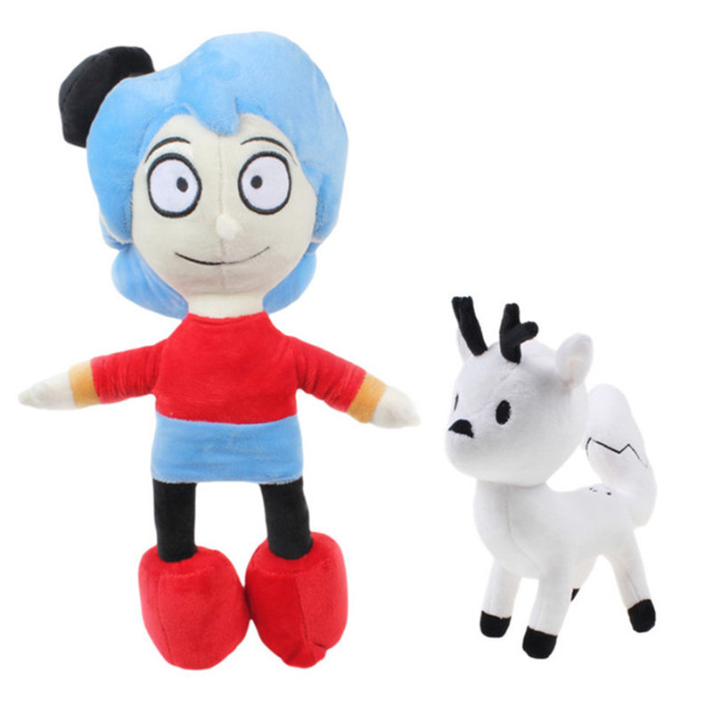 Плюшевые игрушки Hilda, мягкие Мультяшные куклы из фильма «Хильда» и «Белый олень», успокаивающие сна детские куклы, подарок на день рождения