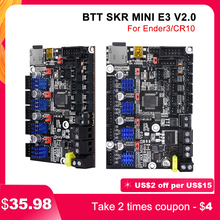 BIGTREETECH SKR MINI E3 V2 32Bit Control Board Mit TMC2209 UART 3D Drucker Teile Für Ender 3/5 Pro Upgrade BTT SKR V 1,4 Turbo