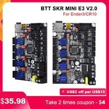 BIGTREETECH SKR MINI E3 V2 scheda di controllo a 32bit con parti della stampante 3D UART TMC2209 per aggiornamento Ender 3/5 Pro BTT SKR V1.4 Turbo