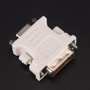 Vga-F-Adapter Female Computer Monitor Dual-Link New DVI-D Video 15-Pin 24--1