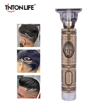 Professional Men Hair Trimmer Beard Electric Hair Clipper Barber Hair Cutting Machine Edge Outlines Finishing Rechargeable Kits