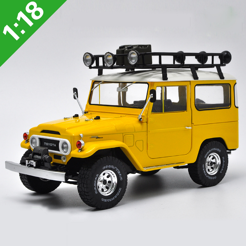 1:18 High Meticulous TOYOTA FJ40 1977 Alloy Model Car Static Metal Model Vehicles With Original Box