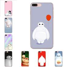 Skin Thin Cell Case Baymax Big Hero For LG G2 G3 G4 G5 G6 G7 K4 K7 K8 K10 K12 K40 Mini Plus Stylus ThinQ 2016 2017 2018(China)