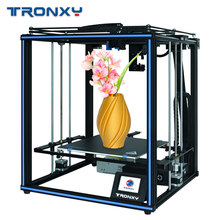 Tronxy X5SA PRO Upgraded Titan Extruder AND High precision Double Axis Guide Rail 3D Printer Build Plate Resume Power Failure(China)