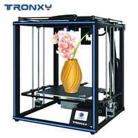 Tronxy X5SA PRO Verbesserte Titan Extruder UND Hohe präzision Doppel Achse Führungsschiene 3D Drucker Bauen Platte Lebenslauf Stromausfall
