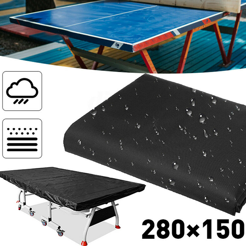 New Shade Tennis Pingpong Table Storage Cover 280x150cm Waterproof Sheet Dustproof Protector For Indoor Outdoor Protection SD669