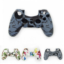 For PS4 Accessories Silicone Gel Guards sleeve Skin Grips Cover Case Caps For Pl