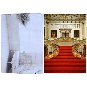 2 шт. виниловые фоны для фотосъемки 5 х7 футов свадебный фон реквизит для фотосъемки-европейский стиль и интерьер деревянный пол кирпичная ст...