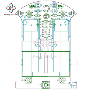 Image 4 - D2 1 سيارة روبوت الذكية مجموعات تتبع سيارة أجزاء روبوت حساس للضوء لتقوم بها بنفسك لعبة كهربائية