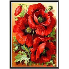 Diamond Painting DIY Paintings Decoration Flower Cross Stitch Home Decor Embroidery