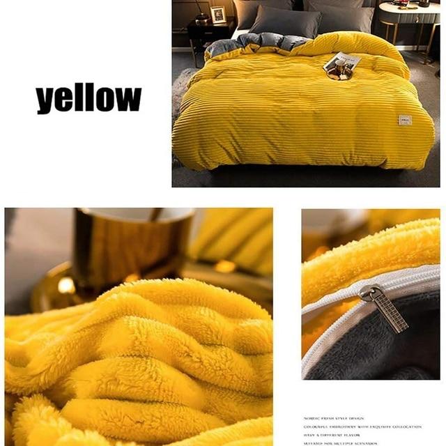 Textured Plush Comforter 3