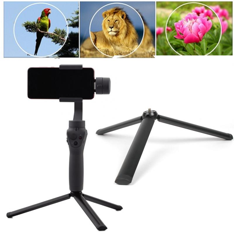 Black Multi function Handheld Gimbal Gimbal Accessory Camera Tripod Stabilizer For DJI OSMO Mobile 2 in Tripod Legs from Consumer Electronics