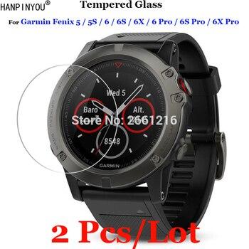 2 шт./лот для Garmin Fenix 5 5S 6 6S 6X Pro спортивные Смарт-часы из закаленного стекла 9H 2.5D Премиум Защитная пленка для экрана