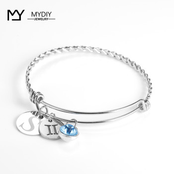 2019 hot new fashion bracelet DIY craft free match adjustable crystal heart cuff opening Bracelet for women jewelry gift retro faux crystal leaf cuff bracelet for women