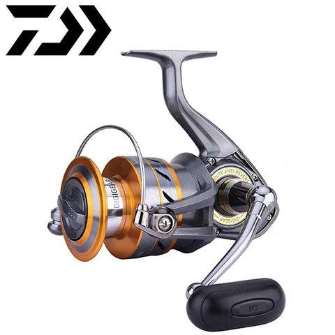 daiwa crossfire metal carretel molinetes de pesca 3bb roda superior para agua salgada de agua