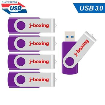 5PCS/LOT 32GB 64GB USB 3.0 Pendrive Memory Flash Stick High Speed USB Sticks for desktop laptop macbook storage device Purple 4pcs lot cy7c68013a 100axc cy7c68013a ez usb fx2lp usb microcontroller high speed usb peripheral controller