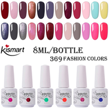 8ml Bottle Nail Gelpolish UV/LED Nail Gel Polish Soak Off Nail Polish Long Lasting UV Gel Nail Varnish Dry With LED Lamp electric nail polish shaker machine nail gel polish bottle shaking device portable gel polish varnish bottle shaking machine