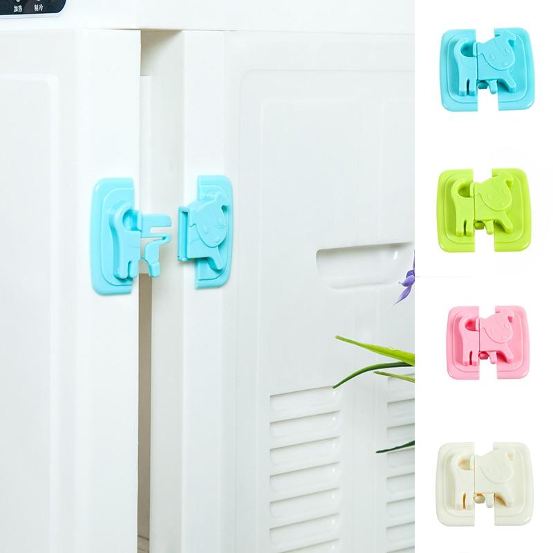 Refrigerator Safety Lock Child Baby Safety Cabinet Drawer Door Cupboard Wardrobe Lock Water Dispenser Security Child Protection