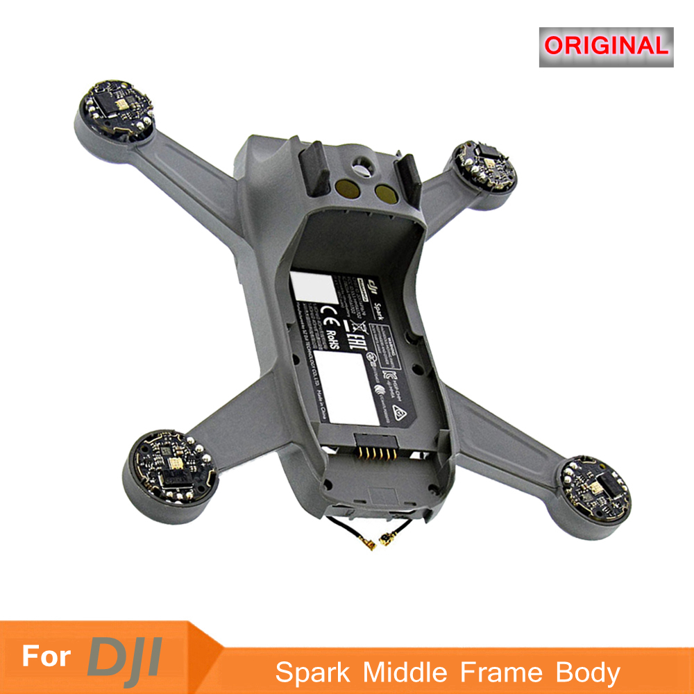 DJI Original Spark Middle Frame Body Shell Case Quick Repair Replacement Parts Semi-Finished For DJI SPARK Drone Accessories Kit