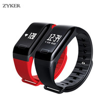 F1 Plus Smart Band Bluetooth Sports Waterproof Color Screen  Pulsometer Blood Pressure Heart Rate Monitor Wristband