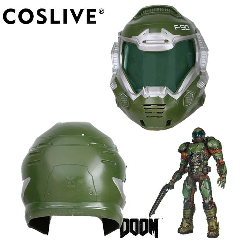 Coslive Doom Doomguy Resin Cosplay Mask Full Head Helmet Cosplay