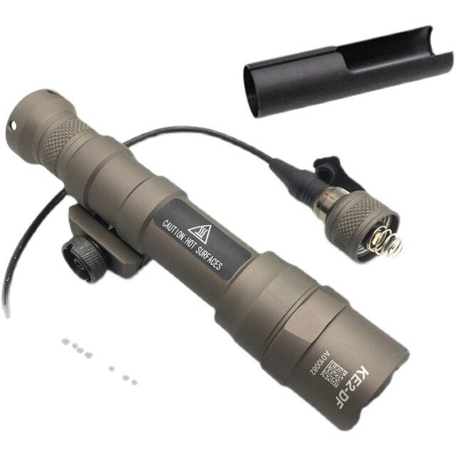 SOTAC M600DF 1400 Lumens Tactical Flashlight Surefir Scout Light Hunting Softair Mount Weapon Light Pistol Gun Light 3