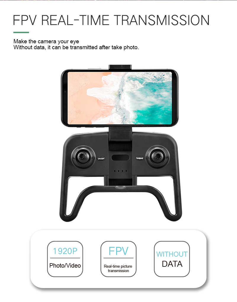 4K Mini Drone Professional Camera HC Foldable Off-Point Quadcopter Gps R8 Height Hold Mode Kids Toy 11