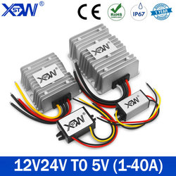 Power supply Converter DC DC 12V 24V to 5V Voltage Converter 1A 3A 5A 15A 20A 30A 40A 75W 150W Step Down Buck 5V Converter CE