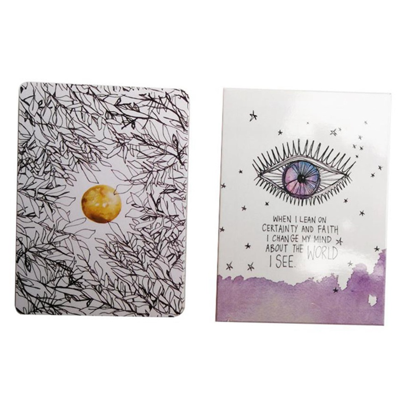 2019 New UNIVERSE Oracle Cards Tarot Deck Cards Read The Mythic Fate Divination For Fortune Games 52-cards/set