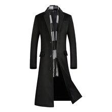 coats for men,Long Coat Men,A Long Jacket Below The Knee,Men's Overcoat,Men's Coat Windbreaker,Men Coats,Wool Coat Men