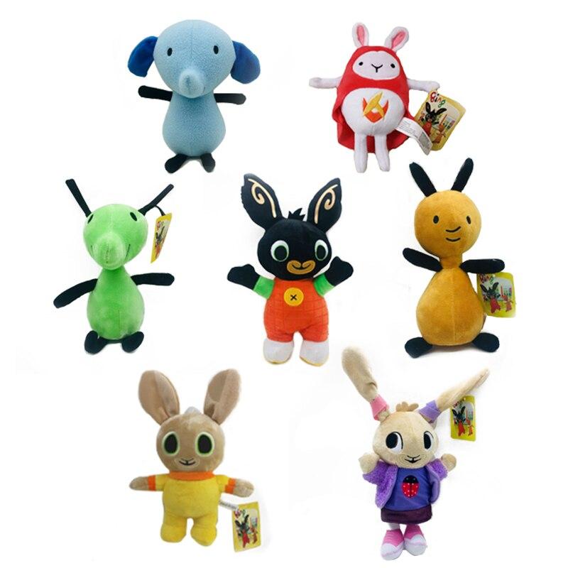 Bing Bunny Plush Toys Doll Bing Sula Flop Elephant Hoppity Voosh Pando Stuffed Toys Gifts Children Kids