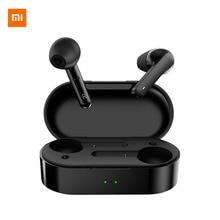 Xiaomi T3 Bluetooth 5.0หูฟังไร้สายไฮไฟDSPตัดเสียงรบกวนสมาร์ททวิภาคีCallหูฟังกล่องชาร์จ