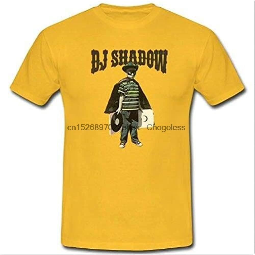 Футболка Dj Shadow, футболка joшуа, пол Дэвиса, Dj, поездка, хоп